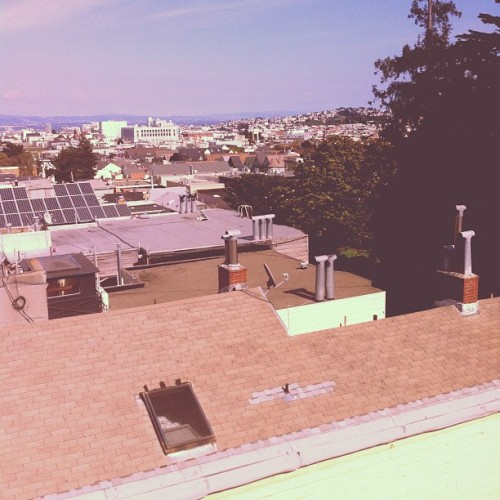 Rooftop Session (Taken with instagram)