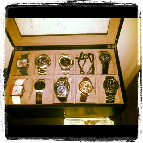 Here is a preview to part of my watch collection.  Look for my next post, The One Accessory Every Man Needs, on Friday! M Looking to purchase one of the timepieces referenced above?  Check out the links below: Michael Kors $195 - $325, Armani Exchange $100 to $250, Haurex $250 - $1500, Nixon $125 to $550 & Emporio Armani $150 to $350