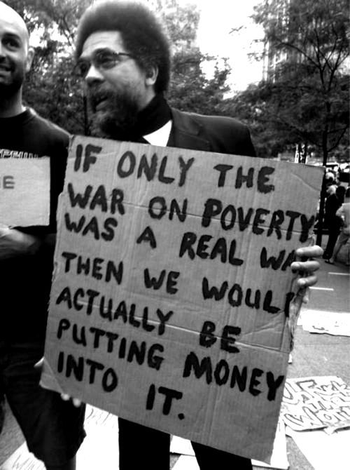 """War on poverty""is too often more like a war on poor people."