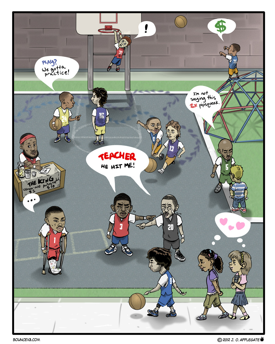 We'll Settle This at Recess (Bouncex3 #56)