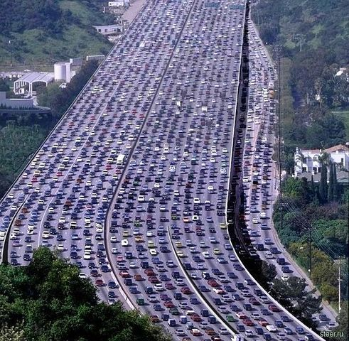 260-km Chinese Traffic Jam