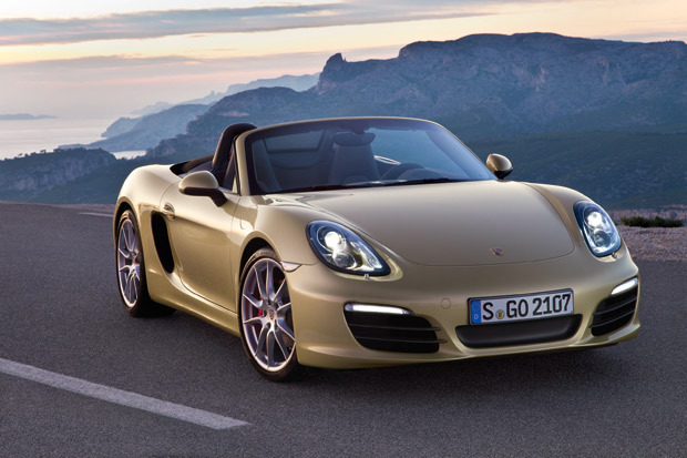 Car News: 2013 Porsche Boxster Redesign. Looks nice.  (via 2013 Boxster)