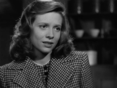 Cathy O'Donnell in They live by night (N. Ray)