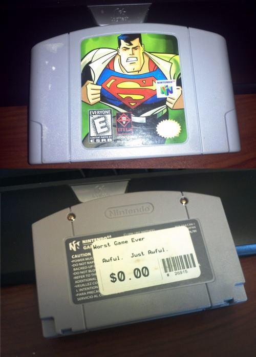 Accurate pricing guide for Superman 64.