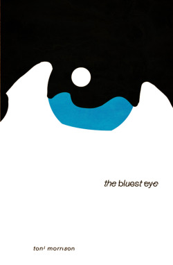 The Bluest Eye by Toni Morrison: Book Cover Re-design # 8 Toni Morrison's novel the bluest eye. Shot at the protagonist Pecola's desire for blue eyes.  Buy the high quality art print at society6.
