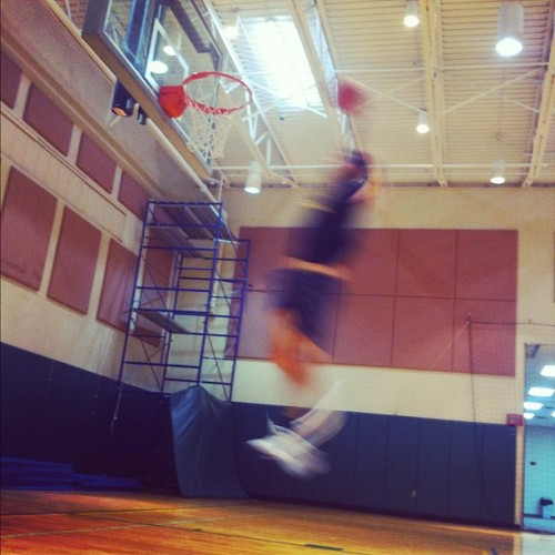 Blurry dunk… #basketball #blur #dunk #church #bball #ballin #blurry #iphone4 #iphone #beautiful #iphonesia #instagood #photooftheday #swag #me #thisguy #flight #midflight (Taken with Instagram at PiB Fliorida)