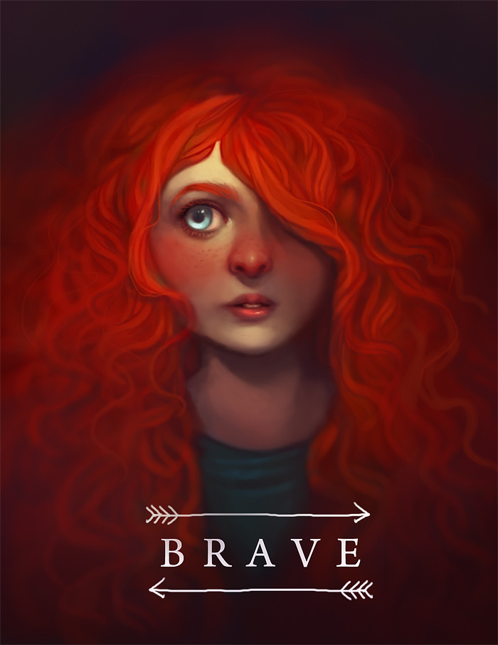 BRAVE by Amelia Dolezalhttp://littledeerling.tumblr.com/