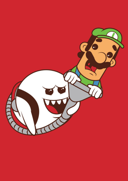 insanelygaming:  Boo's Revenge  Created by Hoborobo Available on Society6