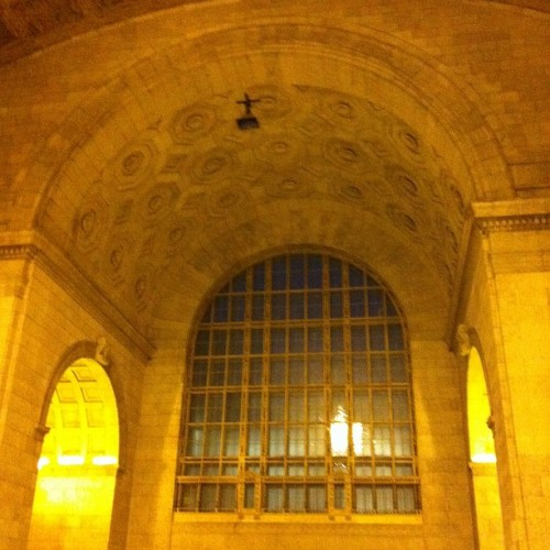 Union almost rivals Grand Central.  (Taken with instagram)