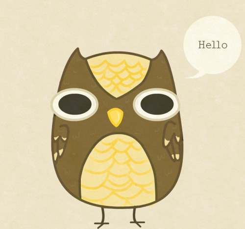 fat-birds:  stagefivederpes: I drew you guys an owl! eeeeeeeeeeeeeeeee so cute! :D