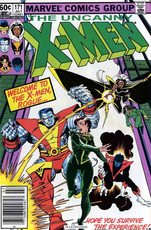 comicbookcovers:  Uncanny X-men #171, July 1983, cover by Walt Simonson