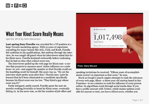 What Your Klout Score Really Means http://www.wired.com/epicenter/2012/04/ff_klout/