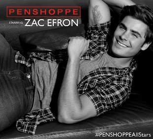 Zac Efron for Penshoppe
