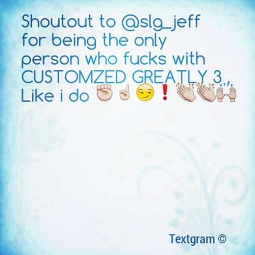 @slg_jeff  !! (Taken with instagram)