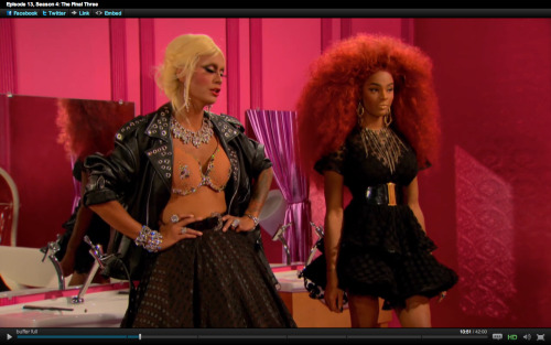 Can we talk about how good these two looked?!! Tyra is giving me everything tho.