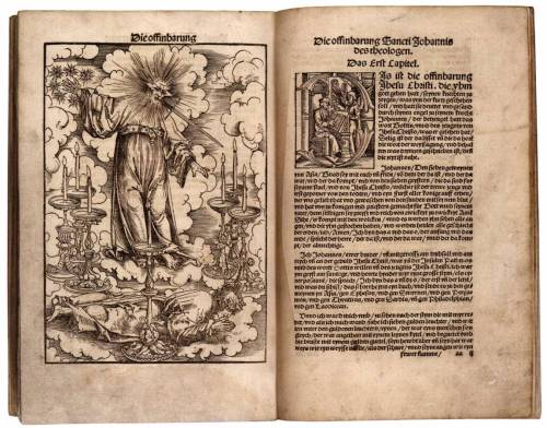 Cranach, Lucas the Elder:New Testament in German Translated by Luther1522WoodcutBritish Library, London  Vía centuriespast