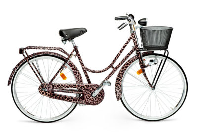Dolce & Gabbana has launched a limited edition bike customised in the brand's iconic 'Animalier' leopard print. Bike features include 24k gold gilding, a basket and the Dolce & Gabbana logo on the saddle and bell. More details here.
