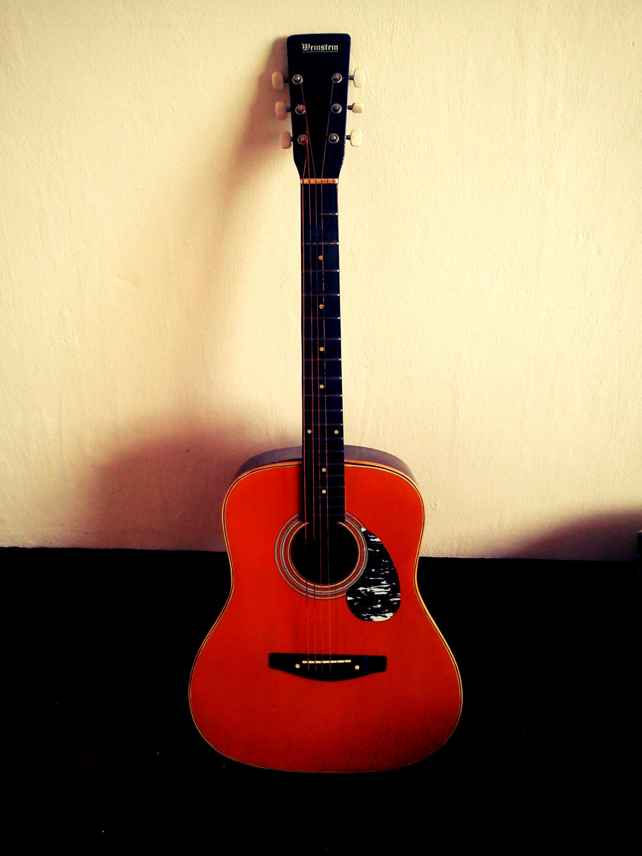 I first learned how to play the guitar when I was 14. :)