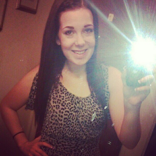 X♡. #simplyme #swag #cheetah #mirrorpic #ig #nailssss #boss #bitch (Taken with instagram)