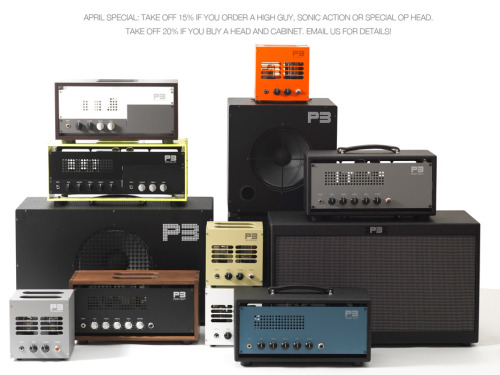 All Tube Handwired Guitar Amps. P3 Amplifiers