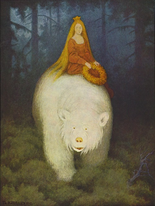 White Bear King Valemon by Theodor Kittelsen
