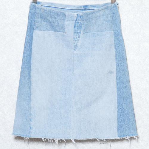 lacollectionneuse:  artisanal denim skirt • martin margiela42,000 円