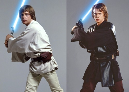 Luke Skywalker & Anakin Skywalker