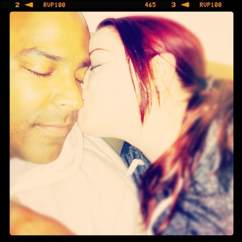 #aprilphotoaday #somethingimthankfulfor #aaron #love #kiss  (Taken with instagram)