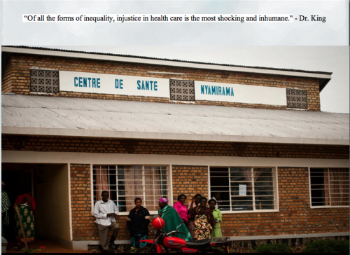 Nyamirama Health Center. Renovate a health center, revitalize a community!