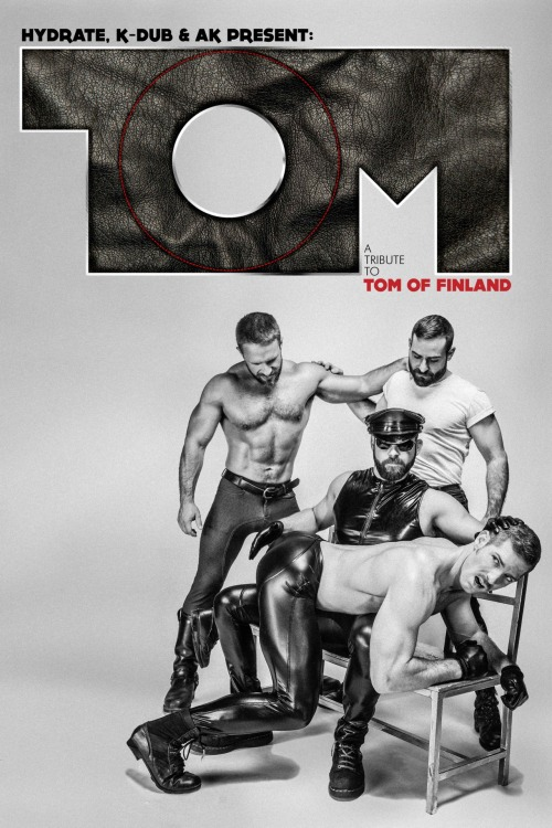 roughgroove:  Poster for Tom of Finland night at Manhole. This is the 'light' copy version that Eric Reda did for it. His design is pretty stellar and really does elevate anything there was in the photo. Link to event:  https://www.facebook.com/events/297871136956151/