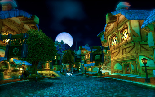 Lovely Stormwind in the evening