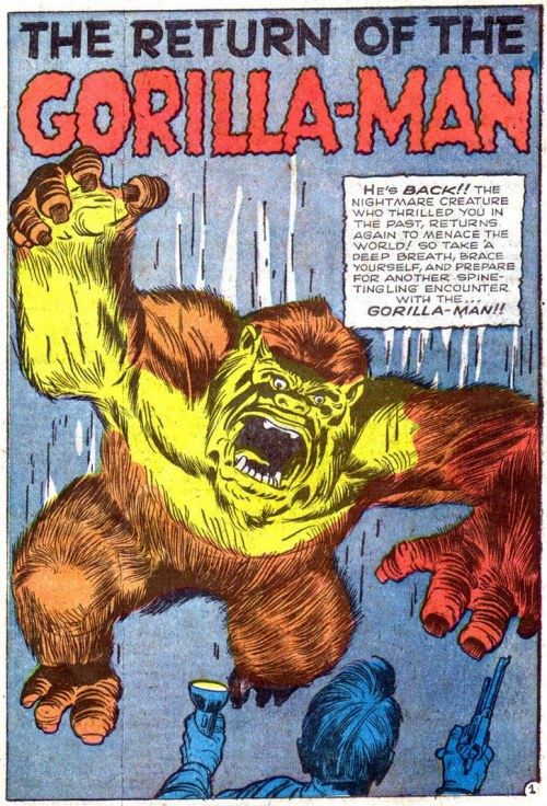 semensperms:  Return Of The Gorilla-Man