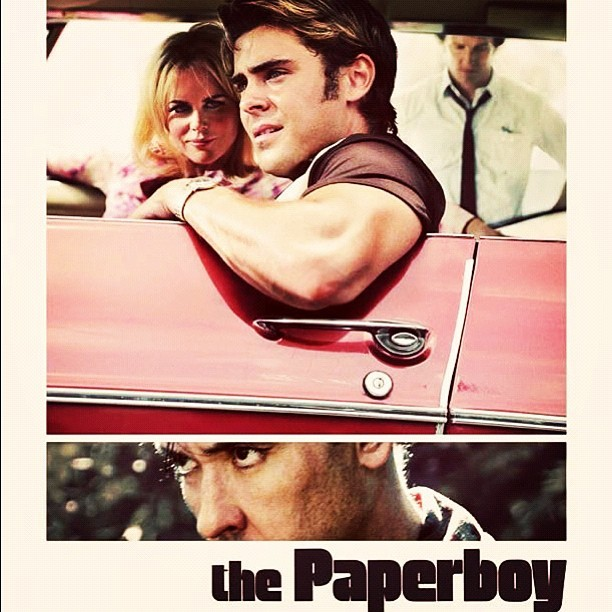"""Congrats to Zac! His next film, a '60s-era thriller called 'THE PAPERBOY,' was accepted into the prestigious Cannes Film Festival for competition!"""