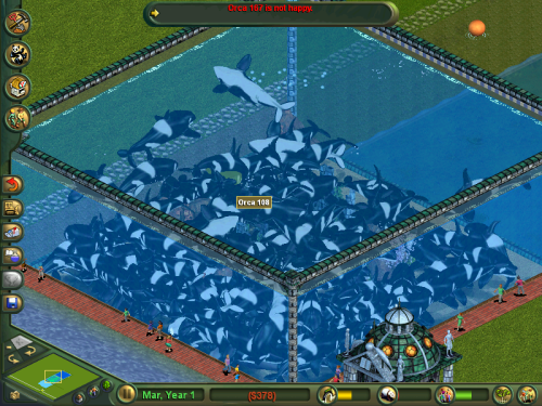 fucking zoo tycoon holy shit  suck it up orca 167