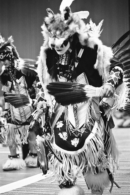 naturepunk:  Powwow father & son by lauritadianita