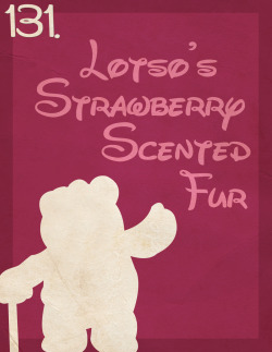 131: Lotso's Strawberry Scented Fur