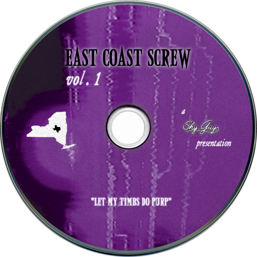 steadyleanin:  DOWNLOAD: Shy Guy - East Coast Screw Vol. 1 (Let My Timbs Do Purp) [MIX] Awwready this is a throwed screwed n chopped mix I put together for 4/20 of mostly slept on classics. Recorded it on cassette. Must be throwed for optimal listening. Running time is 66 minutes and 6 seconds. Fucking soundcloud fucks added an extra second. Download it into iTunes you'll see. REAL SCREWHEADS ONLY… otherwise you wont get it lol.  Release date: Apr 20, 1995