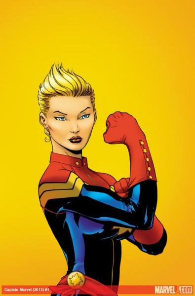 jeremyinternational:  For the record, I was a fan of Carol Danvers before she got cool.