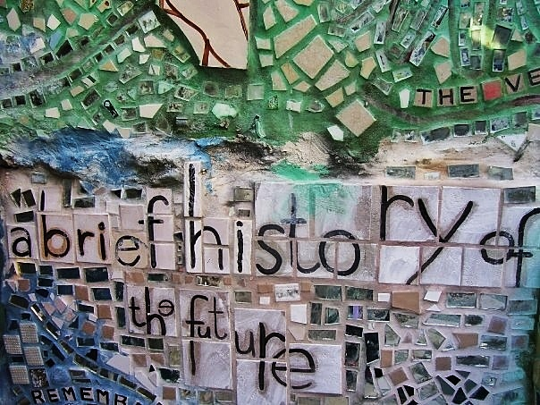 Philadelphia's Magic Gardens. I really can't get enough of this place - I want them to expand to Boston so I can visit whenever I want to.