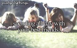 best friends spending