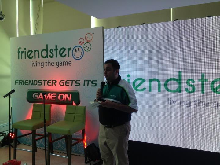 Play games, make friends an get rewarded. - Ganesh Kumar - group CEO (MOL Global / Friendster)