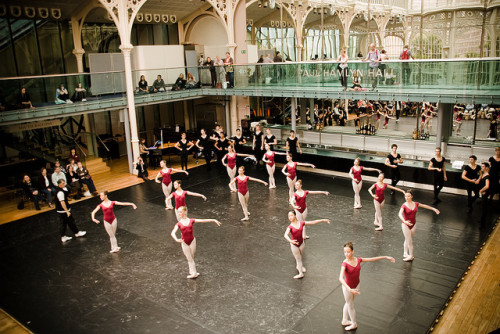 Royal Ballet Rehearsal by ♫゚nolitawanders ✈ on Flickr.