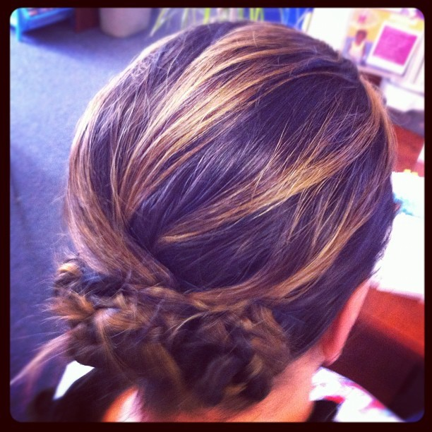 Epic hair… Thanks, #Pinterest (Taken with instagram)