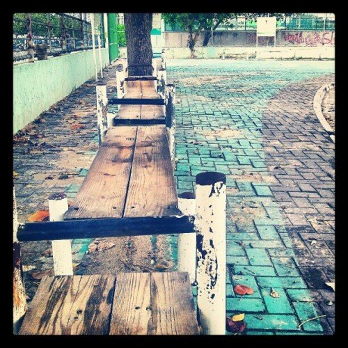 #public #exercising #benches #outdoor #instagram #ig #like #100likes #android  (Taken with Instagram at Running Track)