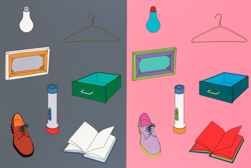 Enjoying the lines and colors of Michael Craig-Martin, #maker