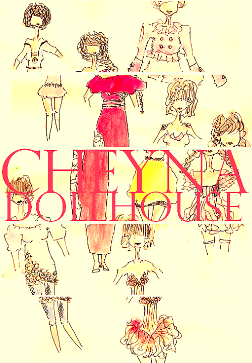 Find my blog @ http://cheynadollhouse.blogspot.com/  sketched and water colored by me!