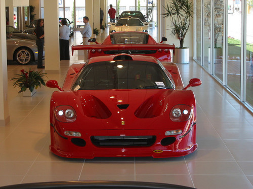 Ferrari F50 GT and friends! by CrowdedGarage on Flickr.