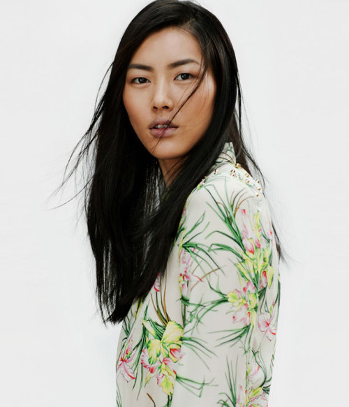 journaldelamode:  Liu Wen for Zara April 2012 Lookbook