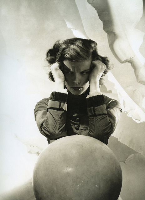 hoodoothatvoodoo:  Katherine Hepburn, photo by Cecil Beaton, 1936