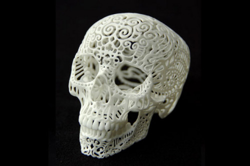 scinerds:   10 Amazing Things 3-D Printers Can Do Now  The breathless predictions about 3-D printers — they'll revolutionize X, Y, and Z industries, they'll even mop your floors! — can steal the spotlight from the everyday applications already in use. Analysts predict 3-D printing will become a $3.1 billion industry by 2016, driven by manufacturers of everything from shoes to sedans. Here are 10 ways 3-D printing is reshaping industrial design now.  Click here to see and read examples of 3-D printing.
